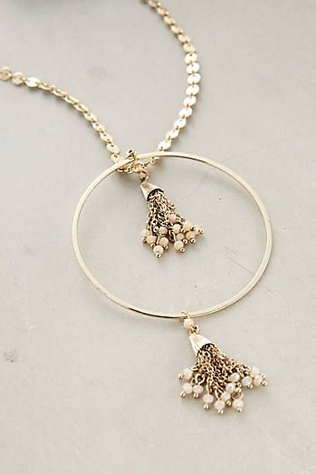 Tasselblossom Pendant Necklace