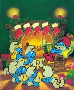 Smurfs Christmas.The Smurfs Christmas 1982 Christmas Movies For Kids 1980s