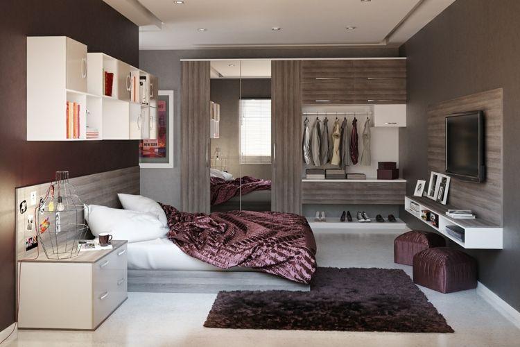Ideen für das Schlafzimmer: 30 Beispiele für jede Raumgröße ...