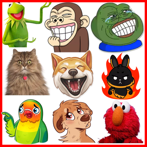 3d Animal Meme Stickers Packs Whatsapp Stickers Memes Animal Memes Monkey Memes Funny Cat Memes