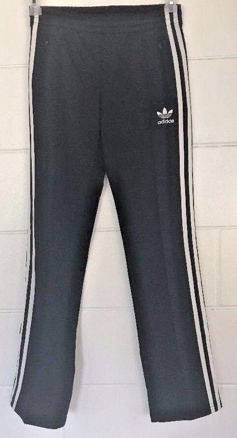 ac31f226586d Supergirl by Adidas Track Pants Original size sz XS BLACK   WHITE work-out  run  eBayDanna