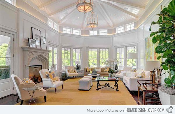 15 Mansion Living Room Ideas Overflowing With Sophistication