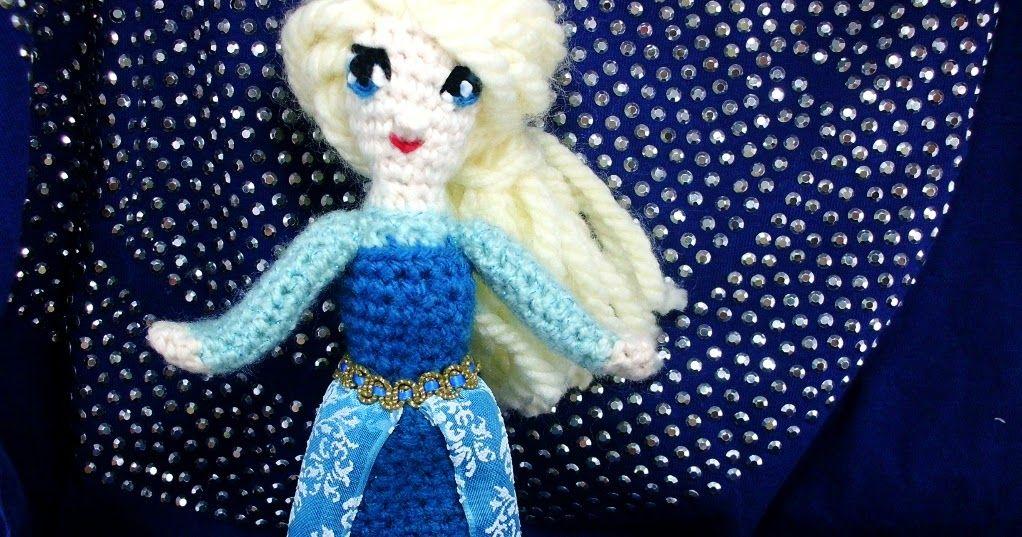 Frau Tschi-Tschi: Schneemann Olaf aus Frozen häkeln | 537x1022