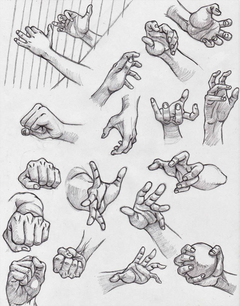 Hand Reference By Kingangel Z Hand Drawing Reference Hand Reference How To Draw Hands