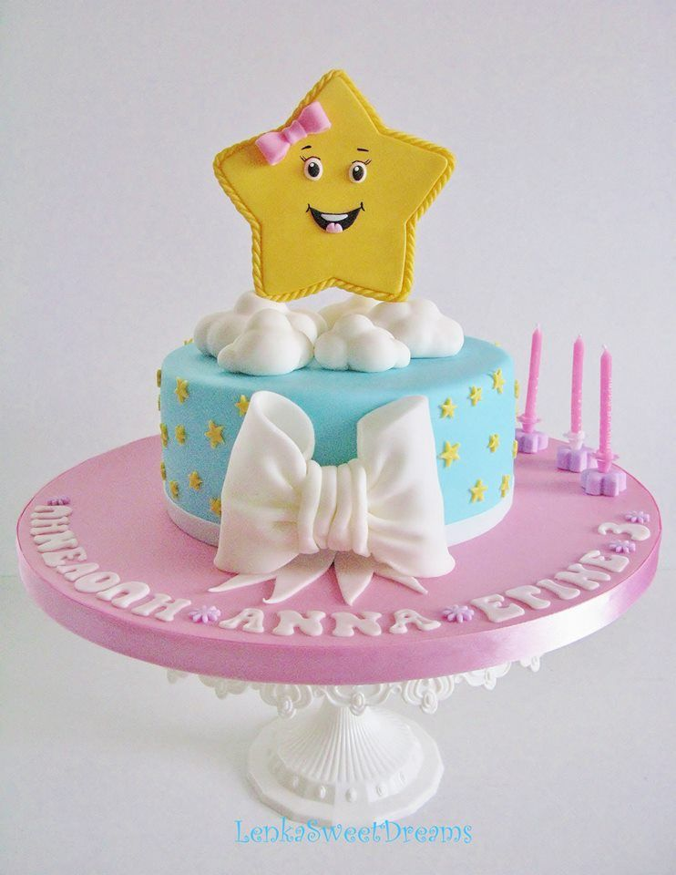 Star Cake Moon And Stars Cakes Pinterest Star Cakes Cake And