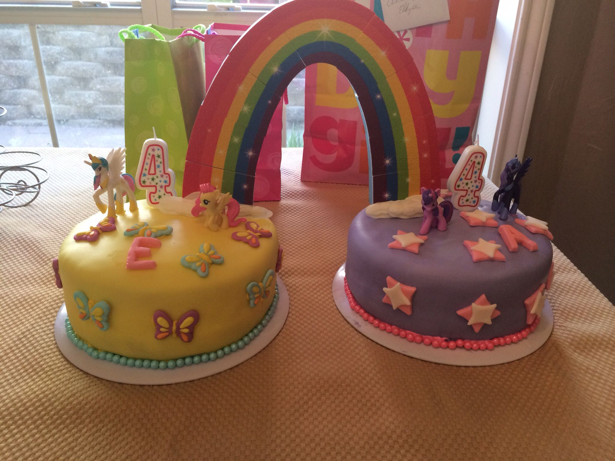 My Little Pony Birthday Cake Made For My 4 Year Old Twins My