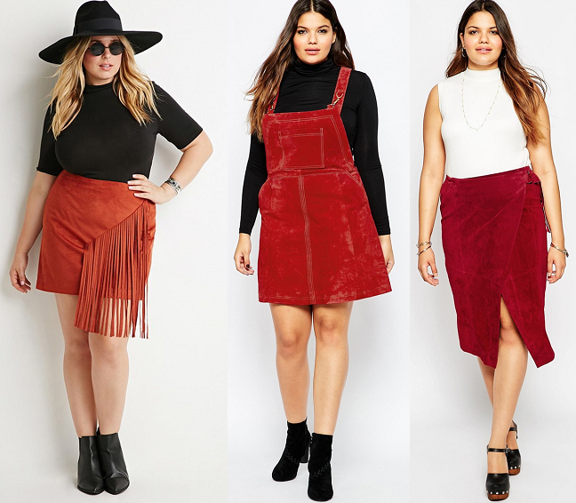 87dbfa1fe1c5f Shapely Chic Sheri - Curvy Fashion and Style Blog  Trend to Try -  70s  Suede (Plus Size Options)