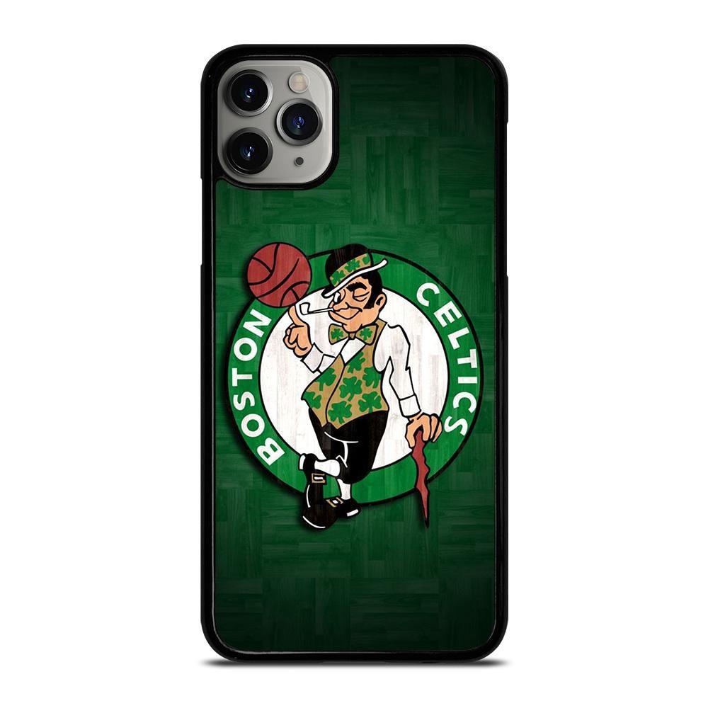 BOSTON CELTICS WOODEN LOGO iPhone 11 Pro Max Case Cover in