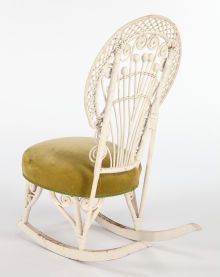 Fantastic Furniture American An American Painted And Upholstered Ncnpc Chair Design For Home Ncnpcorg