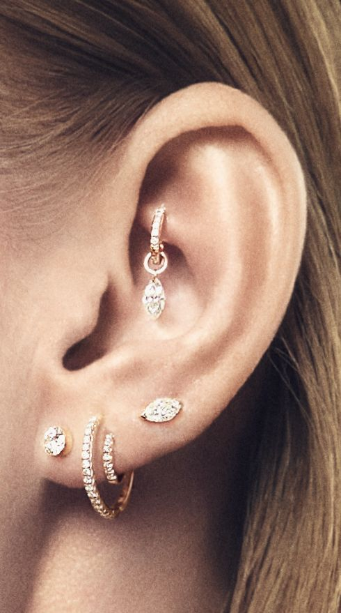 Curated ears: the cool way to stack your piercings