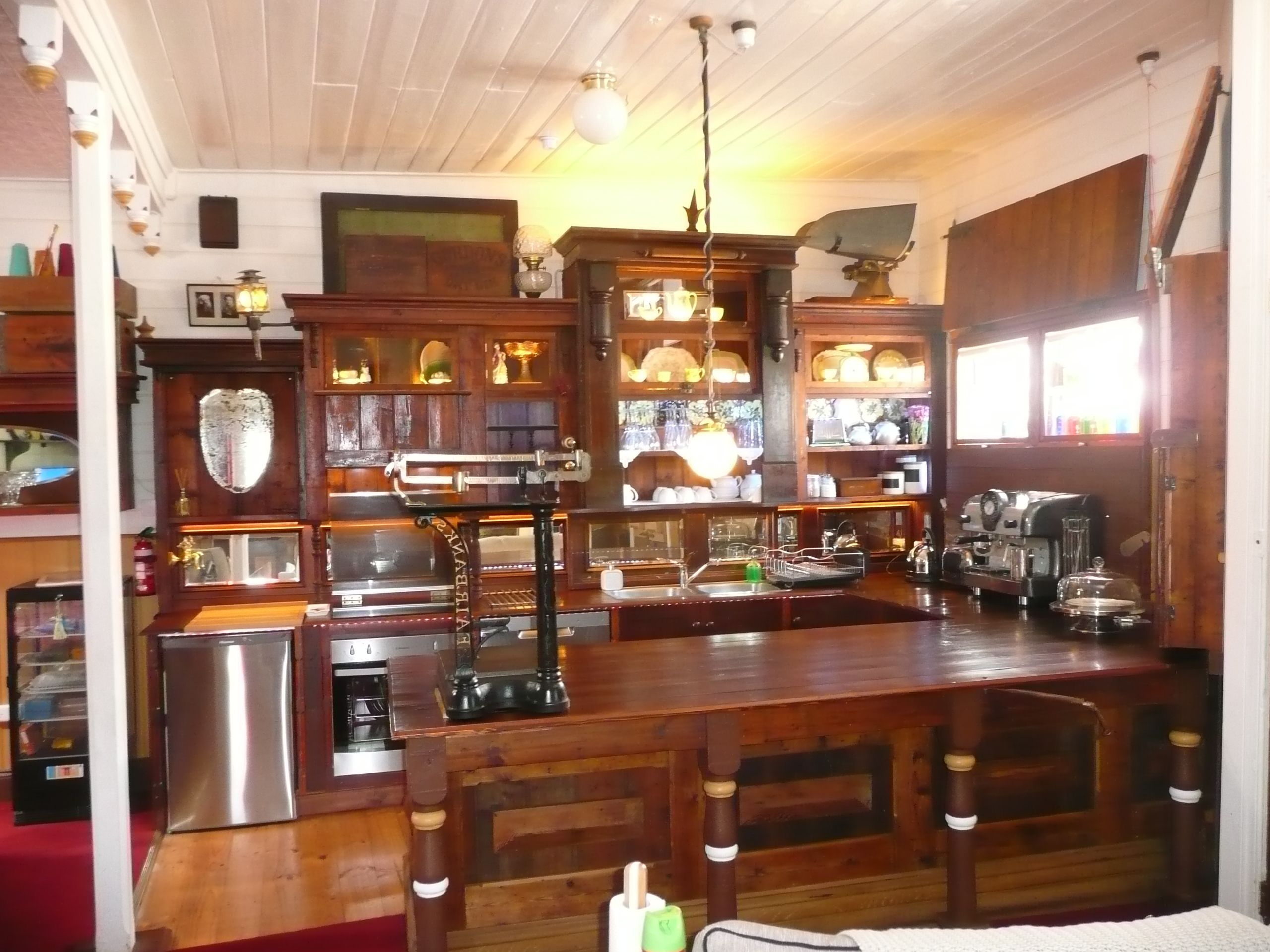 Kitchen Stores Home Designs Time Travel To The A Beautiful 19th Century Vintage Store Counter Remodeled House