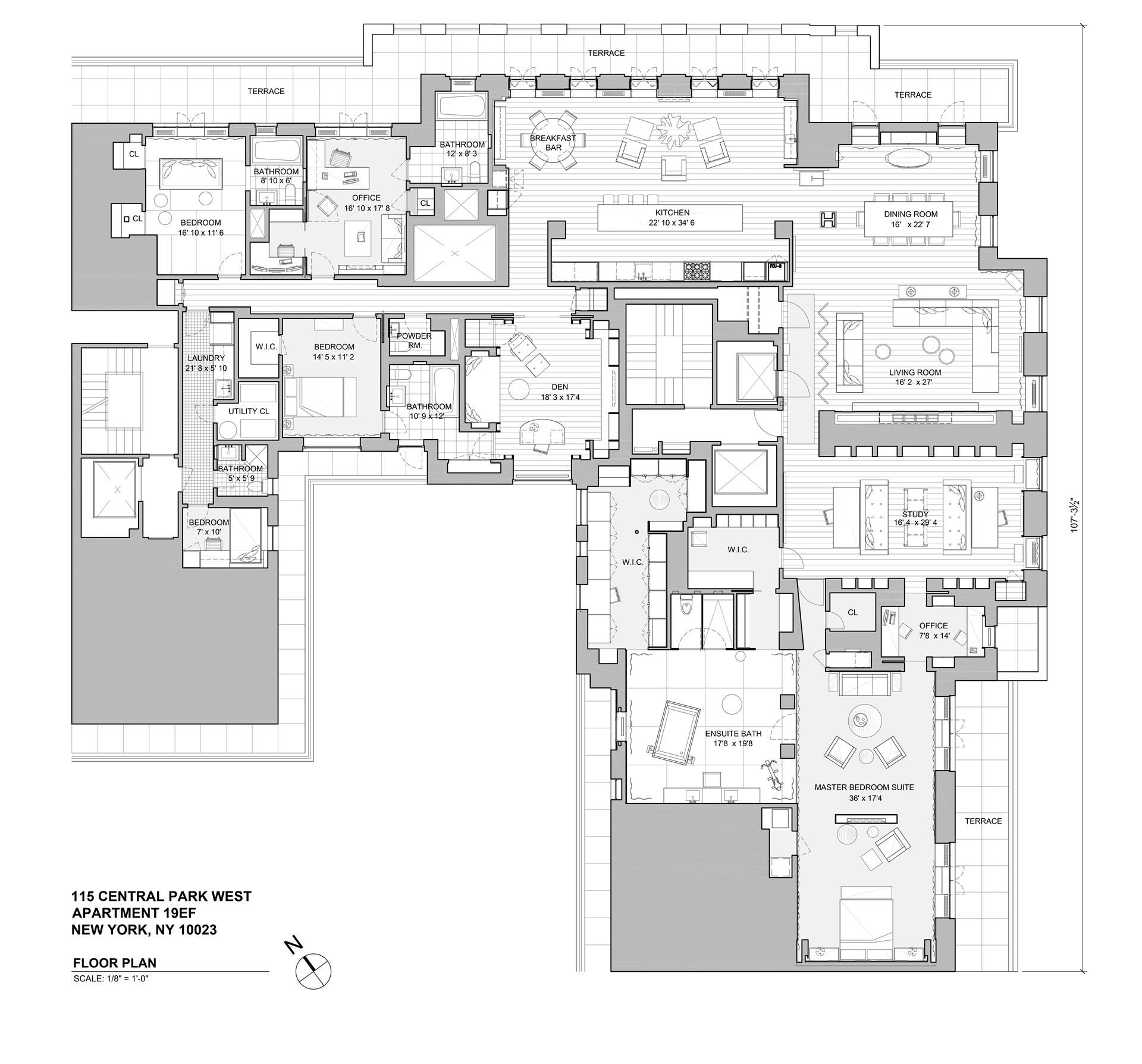 walker tower u0027s 55m penthouse attempts downtown record towers