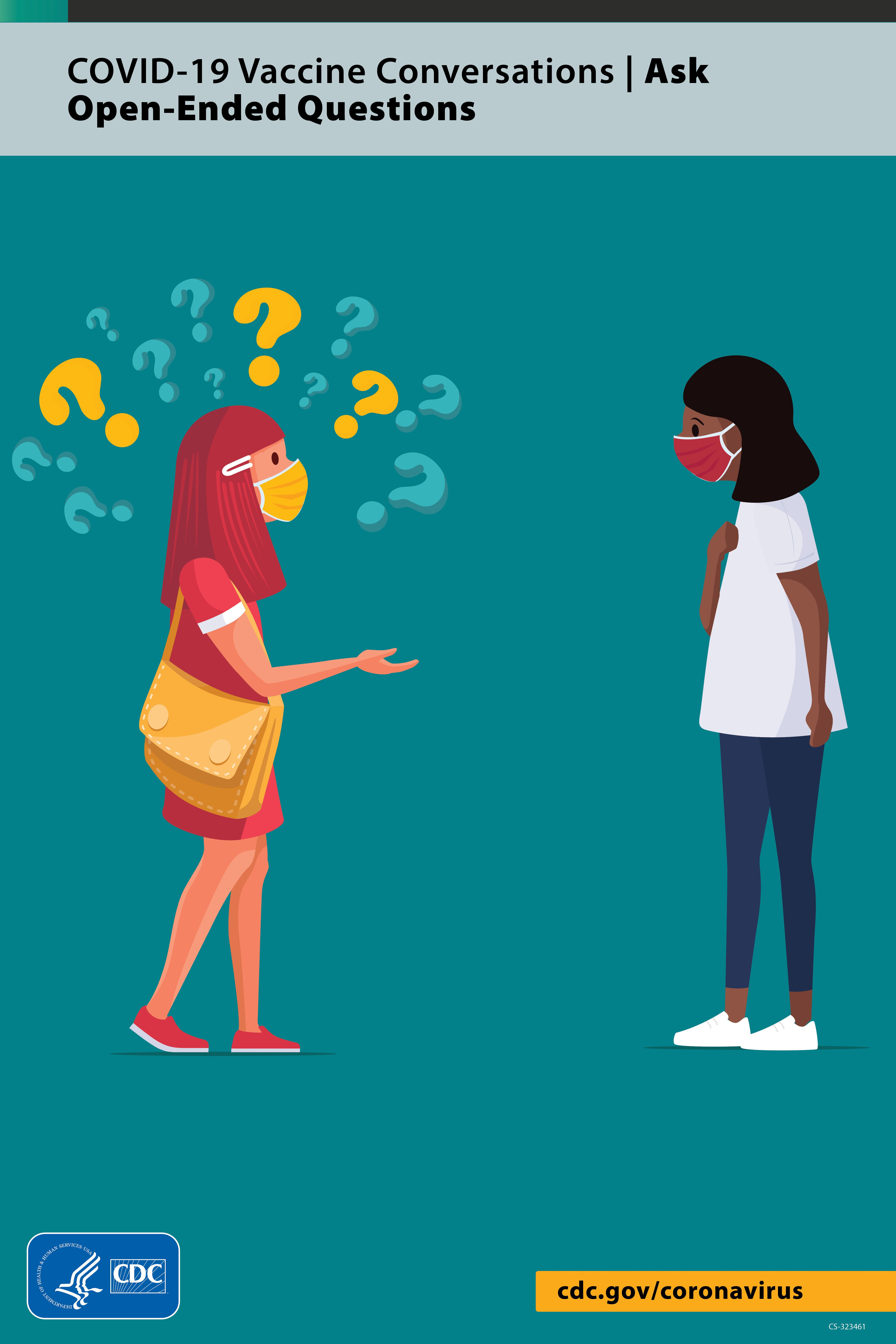 When Talking With Friends And Family About Covid19 Vaccines It Can Be Helpful To Ask Open Ended Questions To Explore Concerns For Example You Can Ask What