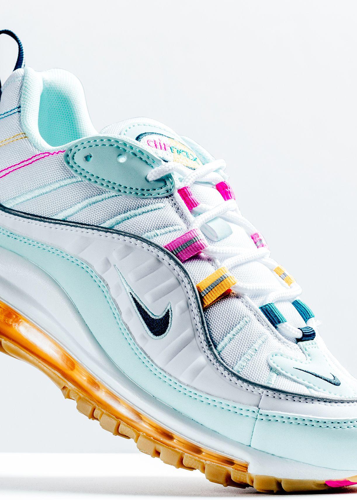 online retailer f0f09 13555 Nike Women's Air Max 98 - Teal Tint/Nightshade/Spirit Teal ...