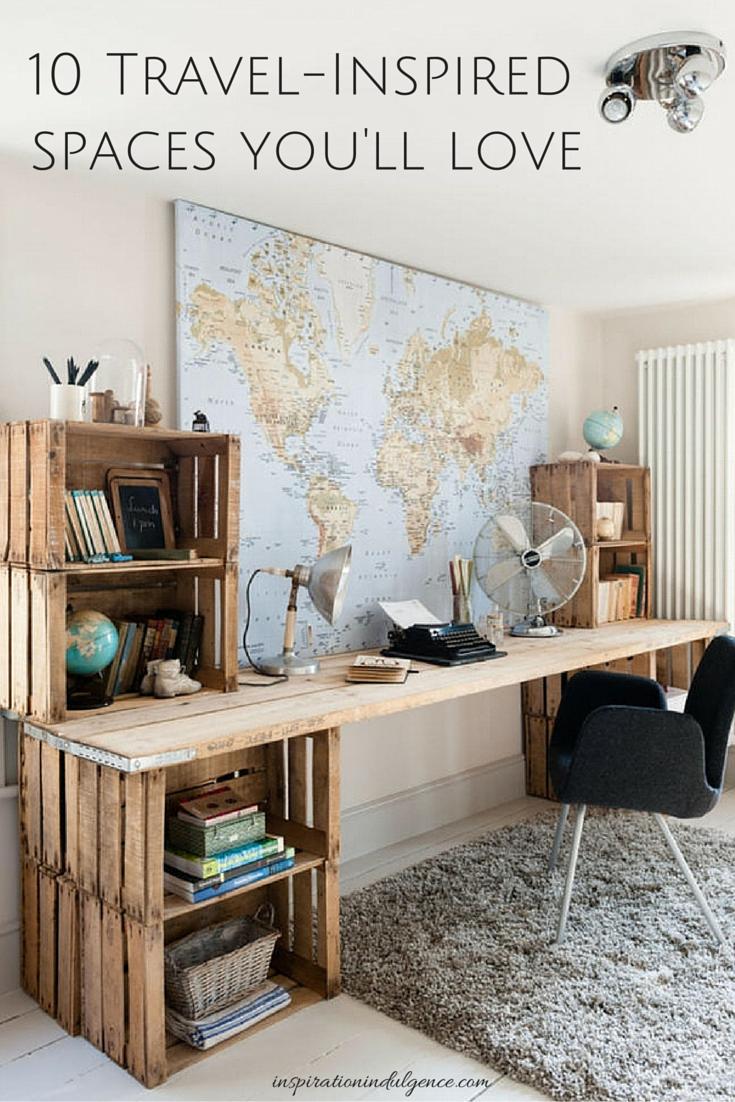 World Traveler Office Decor