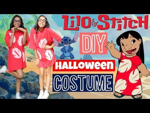 Lilo & Stitch Costume | Hair, Makeup & Outfit - YouTube #mamp;mcostumediy