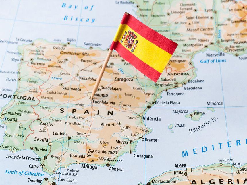 Inversiones Latinoamericanas En España Mapa De España Bandera España España