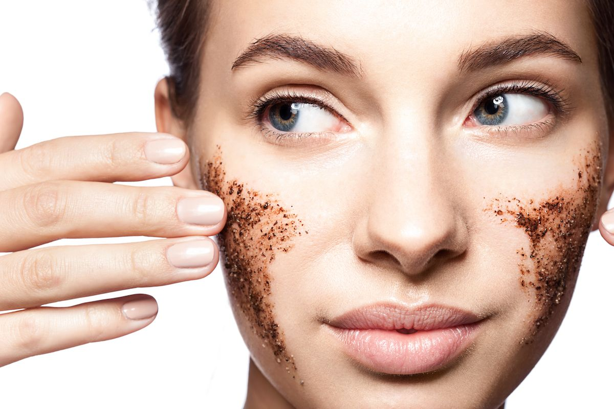 Exfoliating regularly will help make your skin look more