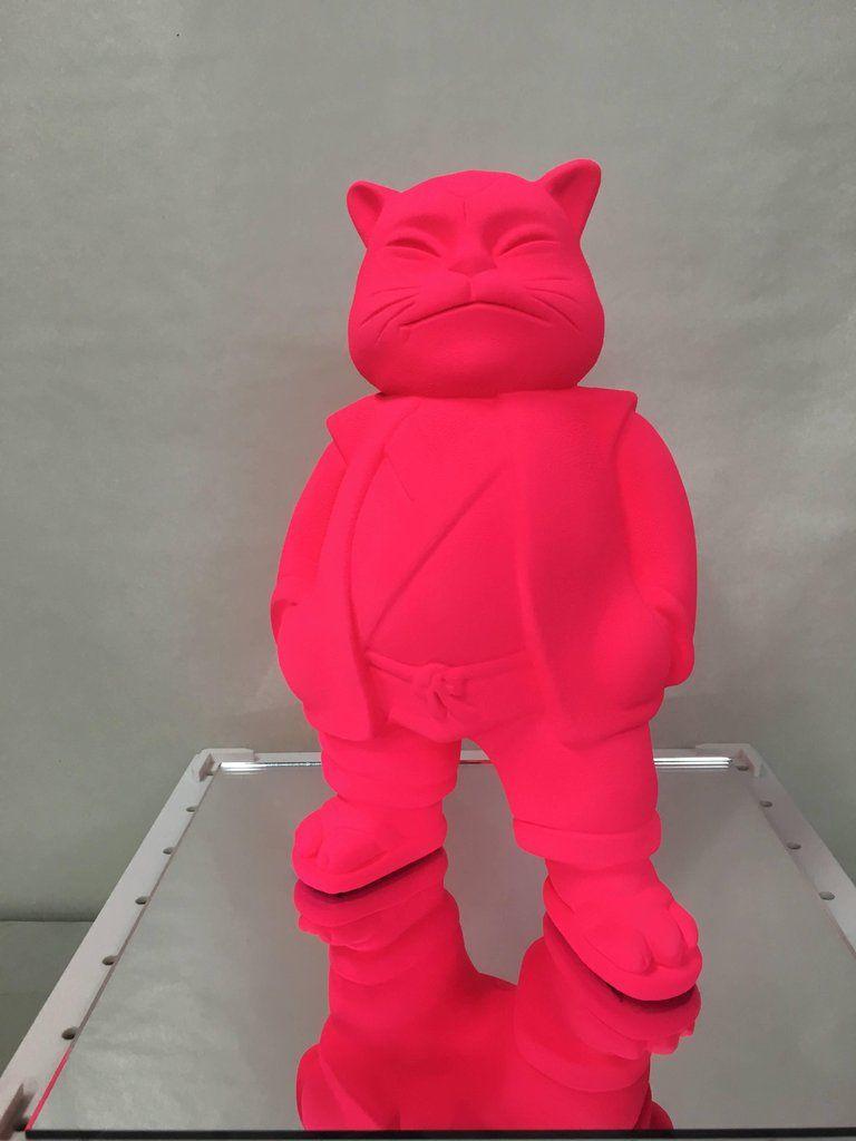 Hiro Ando Abstract Sculpture: . - Urbancat Monology 2008