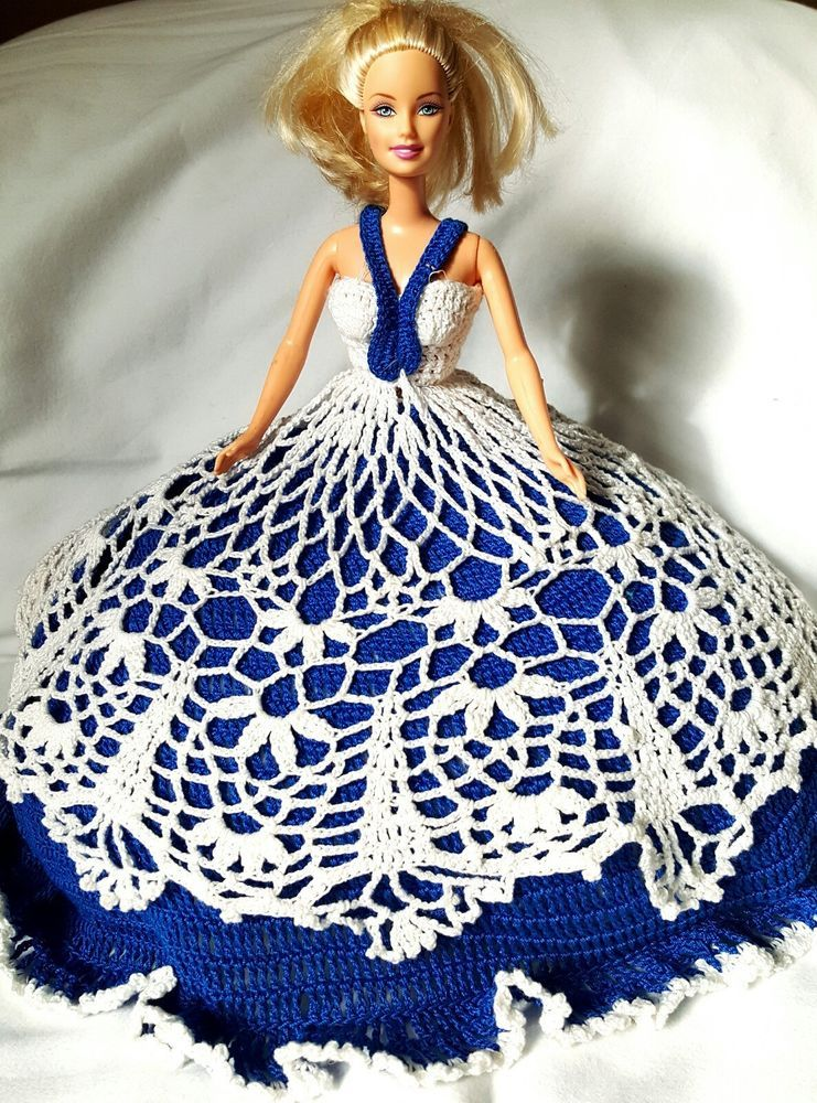 Vintage  Barbie dressed in handmade Crocheted Dress doll included    Dolls & Bears, Dolls, Barbie Contemporary (1973-Now)   eBay!