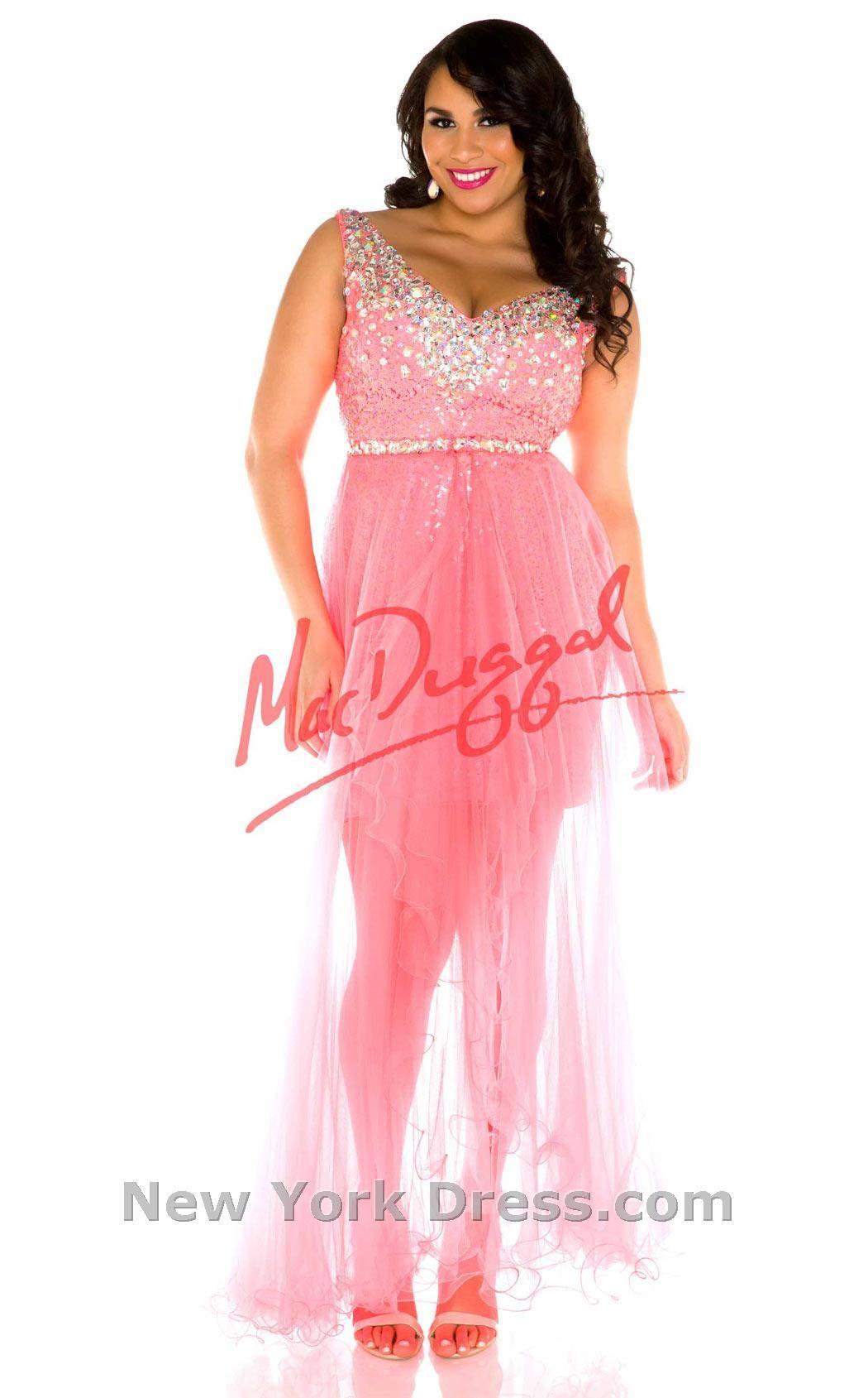 Cute love the detail in this dress Mac Duggal 65067F thumbnail