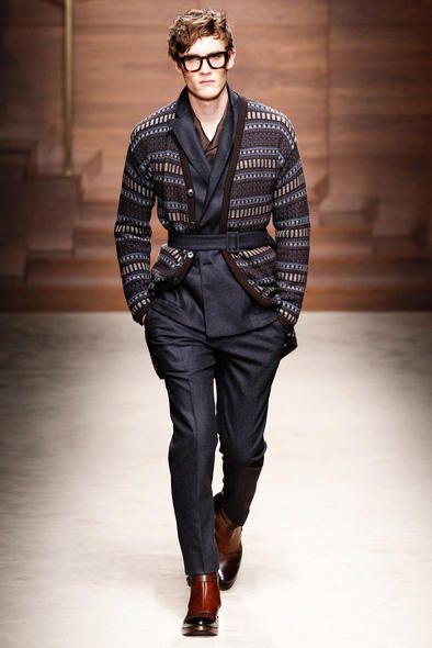 Ecco uno dei modelli della collezione autunno inverno 2014 for Design della moda politecnico milano opinioni
