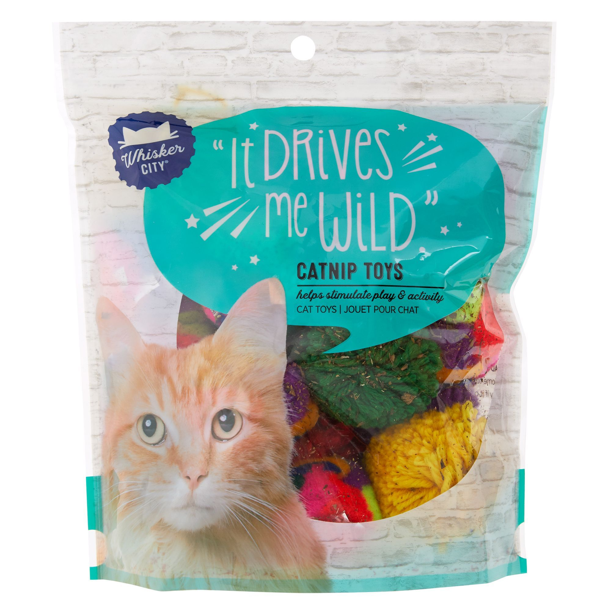 Whisker City Catnip Puff Cat Toys Cat Toys Cats Catnip Toys