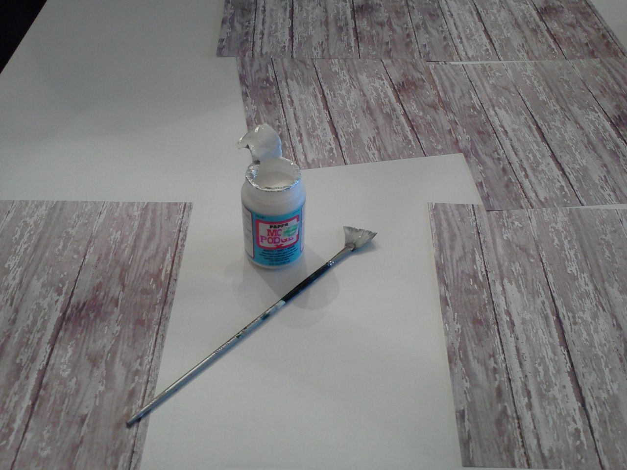 How To Make A Faux Wood Floor Photography Prop Diy Photo