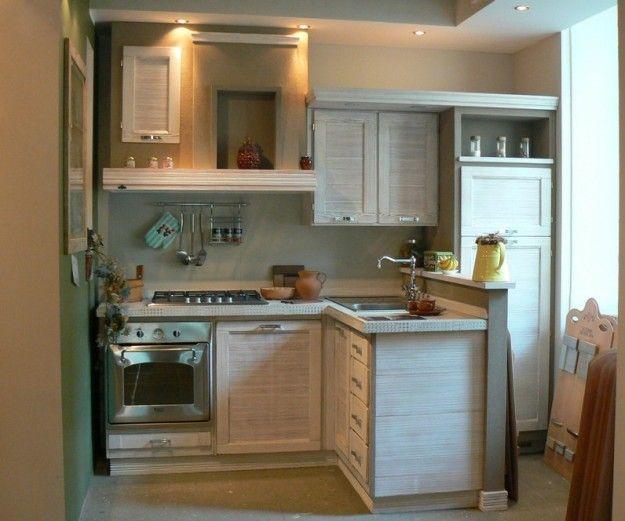 Arredare una cucina 3x3 cucina piccola in grigio - Arredare cucina piccola rettangolare ...