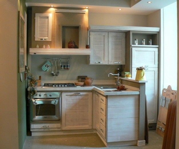 Arredare una cucina 3x3 cucina piccola in grigio - Arredare piccola cucina ...