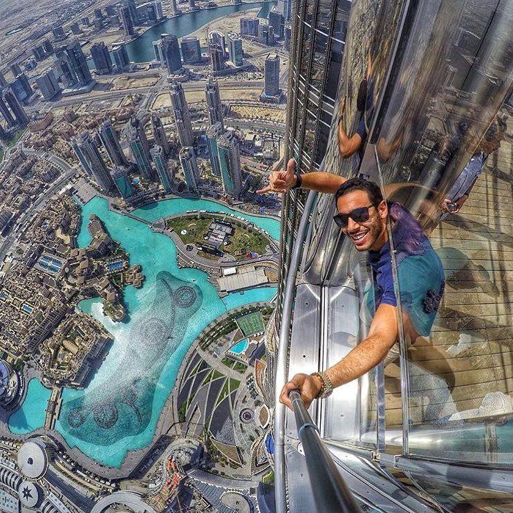 Dubai When You Are At The Top Atthetopburjkhalifa Photocredit Ehabkaras Dubai Instagram Luxury Lifestyle