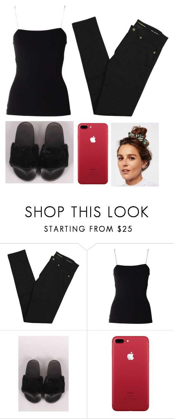 """""""Black IS BeautyFul"""" by parkaiagogona ❤ liked on Polyvore featuring Yves Saint Laurent, T By Alexander Wang and Free People"""