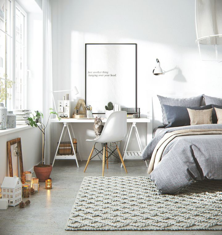 What Makes Nordic Style Apartment A Popular Interior Design Choice Scandinavian Design Bedroom Bedroom Interior Home Bedroom