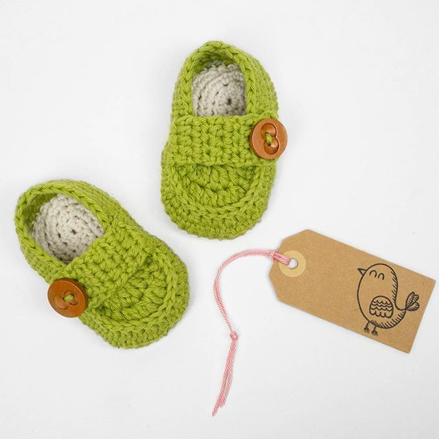 Little Baby Loafers Link To The Pattern In Bio Crochethellip