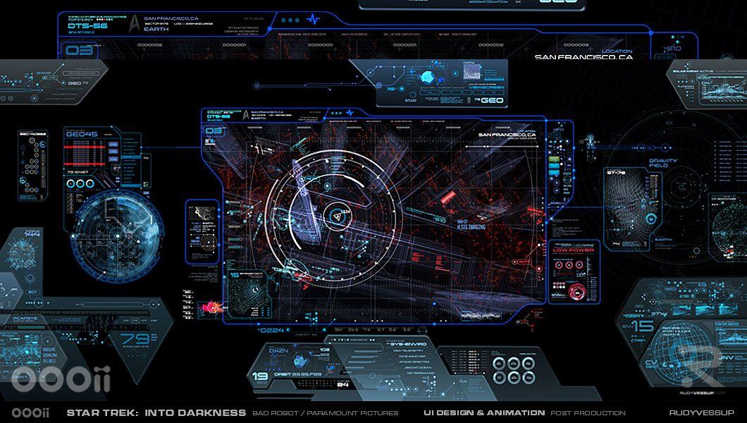 Star Trek: Into Darkness – Survillence Viewscreen | Rudy Vessup | Digital Artist