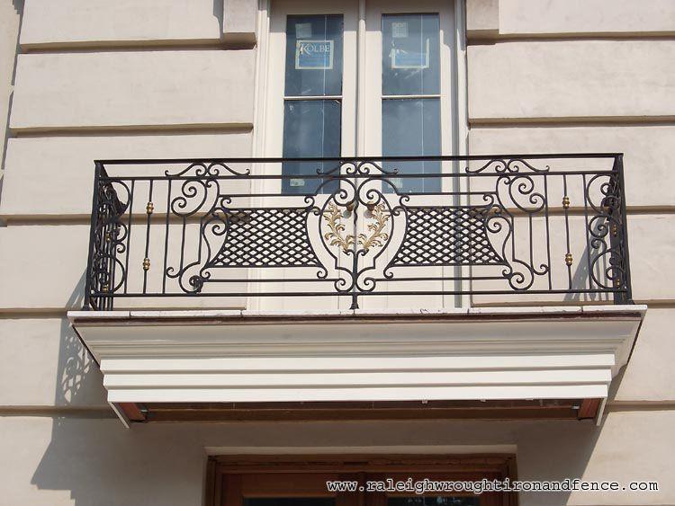 Faux Iron Balcony - Raleigh Wrought Iron Co.   Iron ...