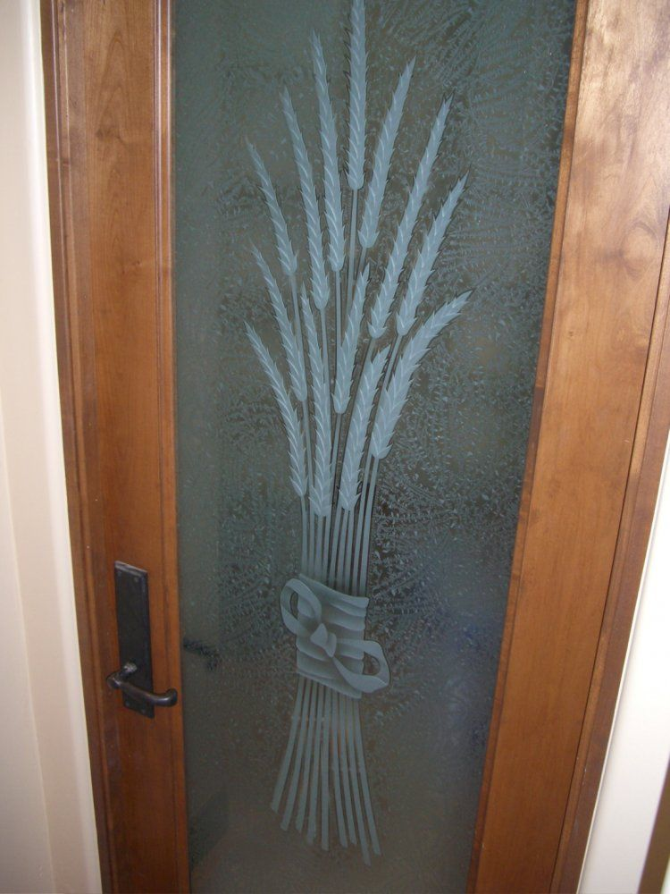 Pantry doors pantry door etched glass wheat designs for the pantry doors pantry door etched glass wheat designs planetlyrics Choice Image