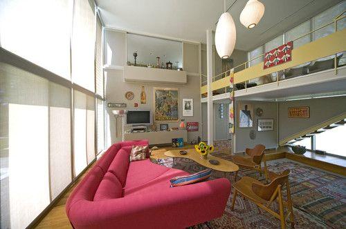 Paul Rudolph  Umbrella House interior
