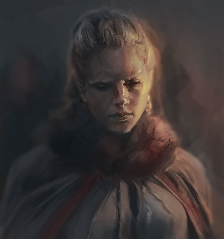 Lagertha Study by xWaxWingx
