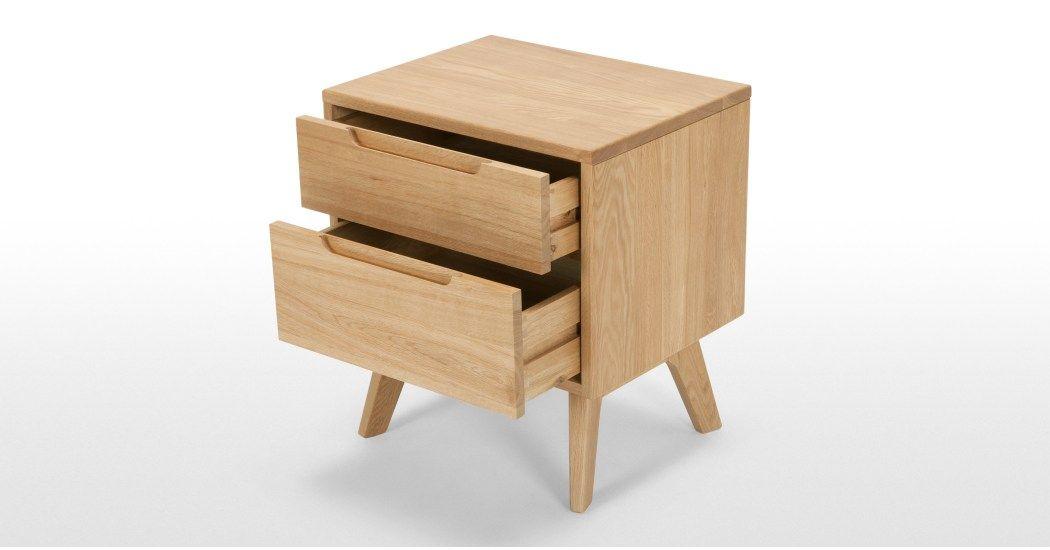 Jenson Nachttisch Eiche Table Bedside Furniture