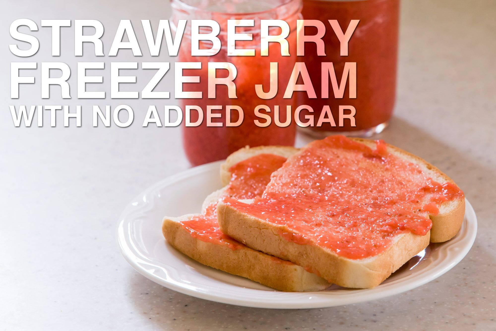 Sugar-Free Strawberry Freezer Jam