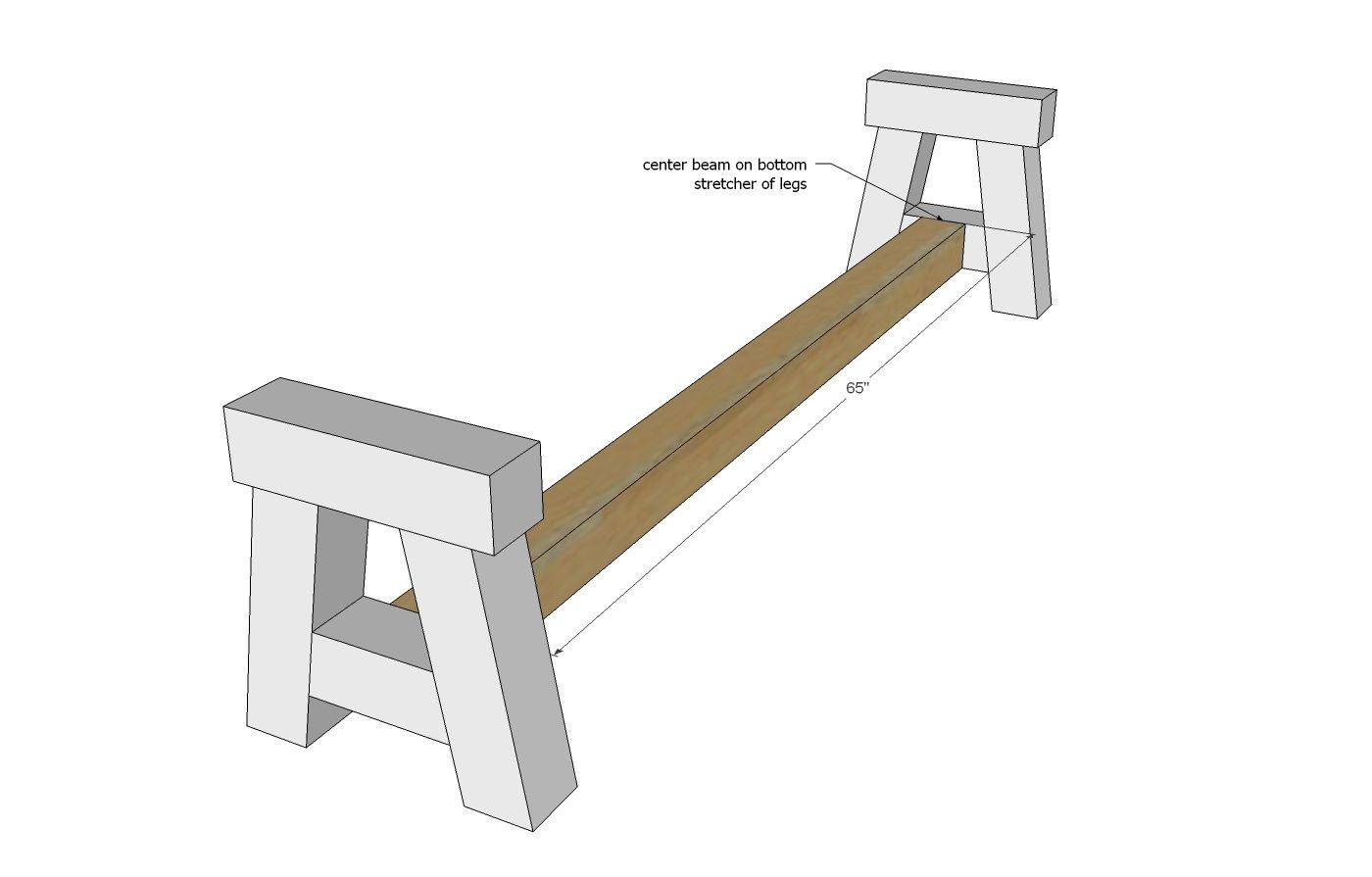 Tremendous 4X4 Truss Benches Home Decor Diy Furniture Chair Machost Co Dining Chair Design Ideas Machostcouk
