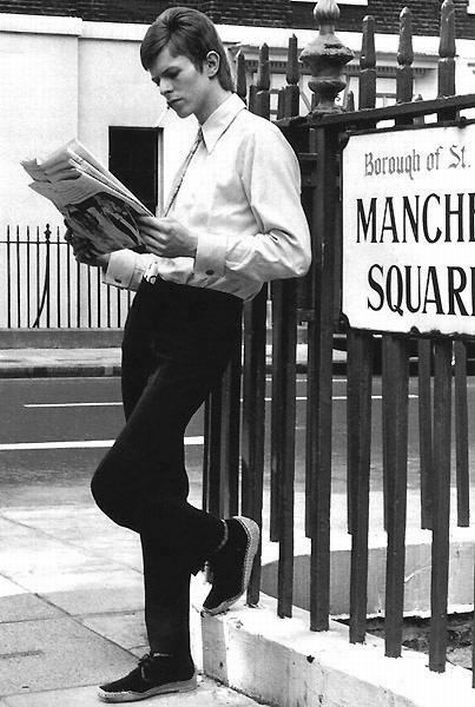David Bowie in Manchester Square