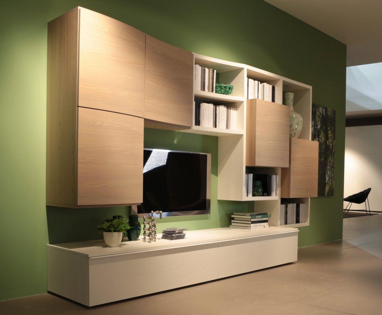 Anteprima dal salone del mobile 2013 parete attrezzata - Parete attrezzata moderna ikea ...