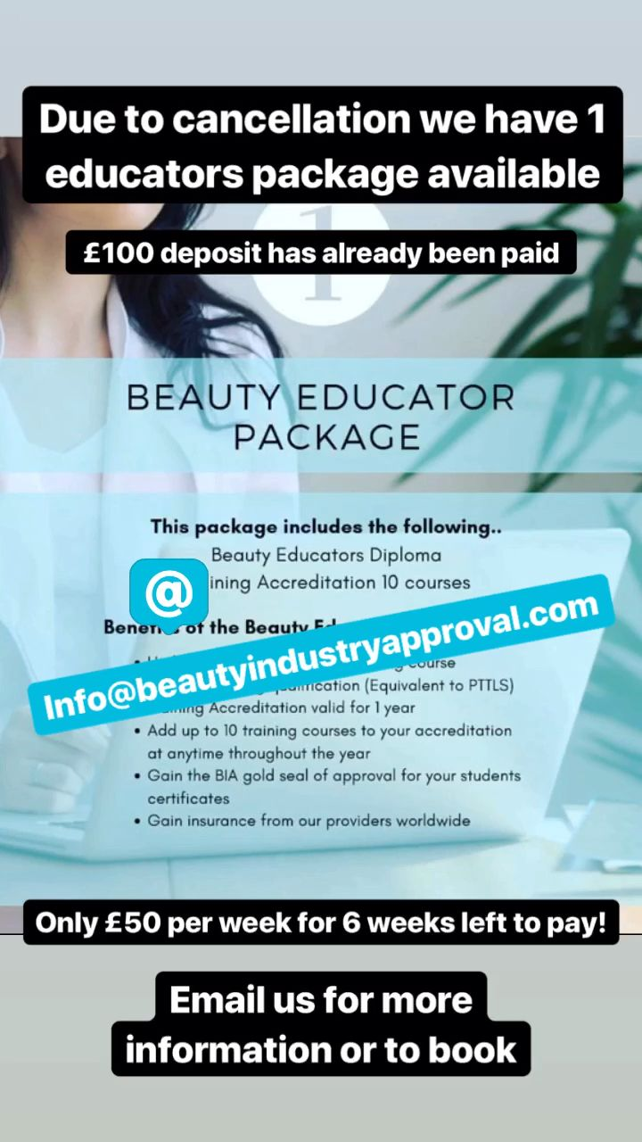 Beauty Industry Approval Beautyindustryapproval Instagram Photos And Videos Education And Training Beauty Industry Education