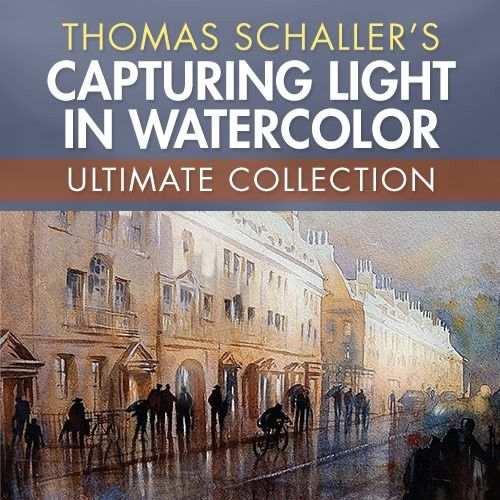 Thomas Schalleru0027s Capturing Light In Watercolor Ultimate Collection |  NorthLightShop.com #watercolor #painting #art