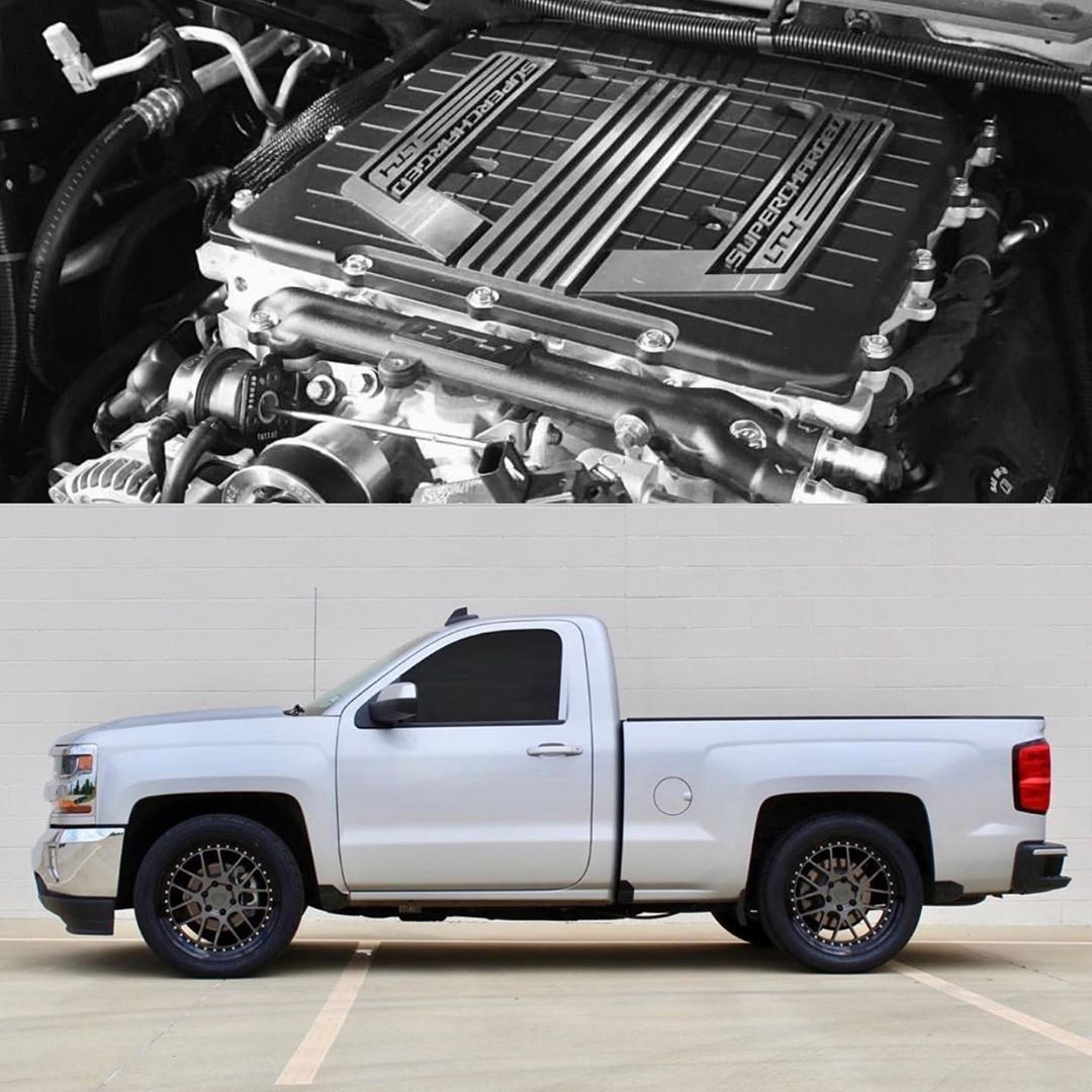 The Official Page Of On Instagram Lt4 Supercharged Silverado