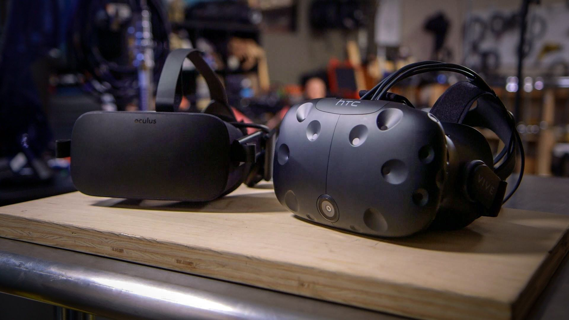 We Ve Now Reviewed Both The Oculus Rift And Htc Vive But After Spending More Time With Both Virtual Real Oculus Rift Vr Accessories Virtual Reality Technology