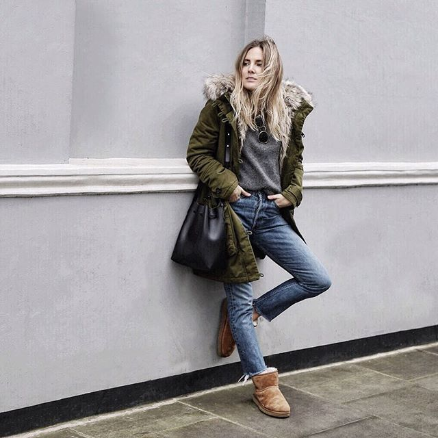 7e99e52c9a6 Skinny Jeans + UGG Boots: So lässig trägt man den gemütlichen Look ...