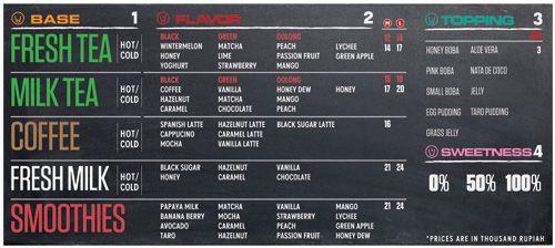 Art of the Menu: Boba | bubble tea | Bubble tea menu ...